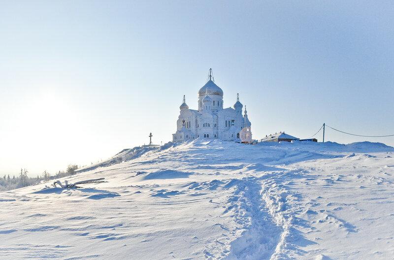 Белая гора. Белогорский монастырь