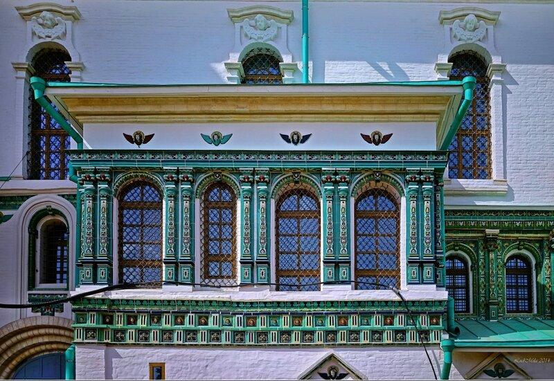 Декор Воскресенского собора Новоиерусалимского монастыря