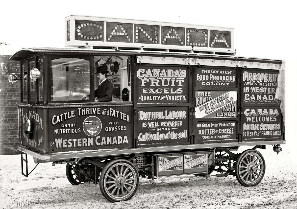 Специализированные транспортные средства начала 20-го века на снимках американских фотографов (2)