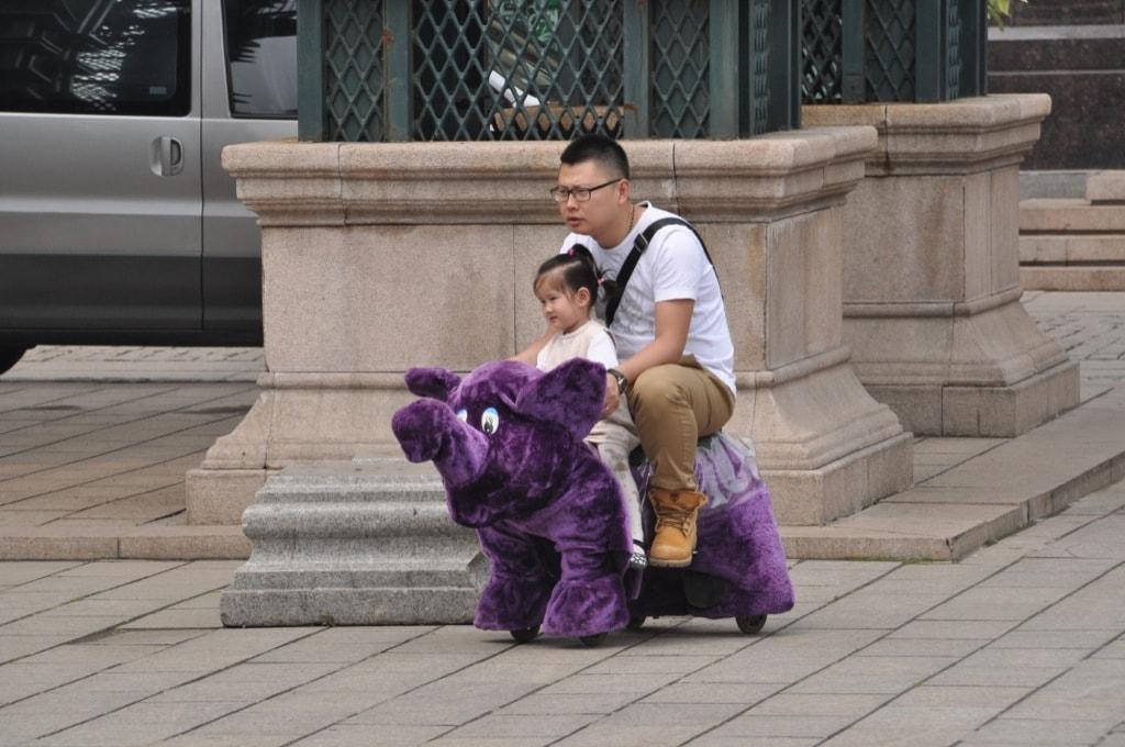 Фиолетовый слон - достойная замена пьяному медведю :)