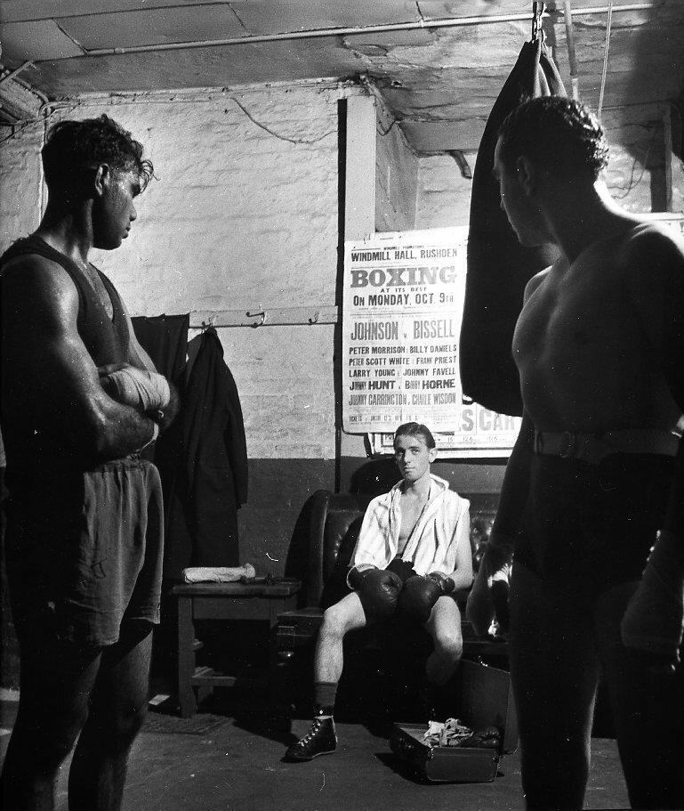 1950. Бокс, Лондон