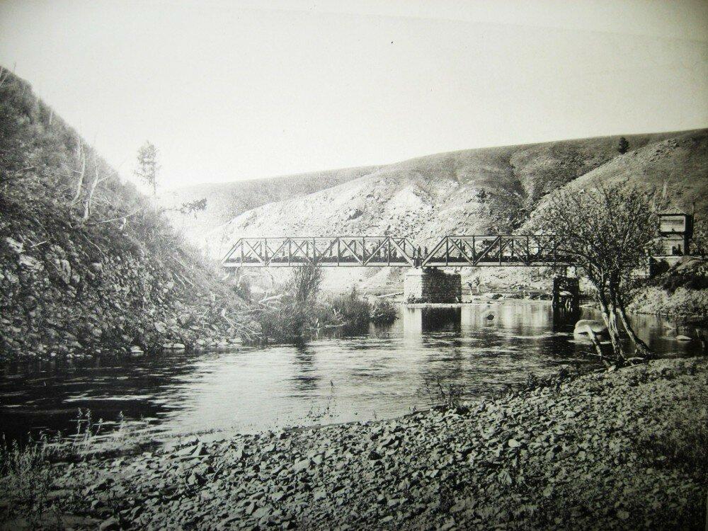 20. Мост через реку Алеур на 64-й версте