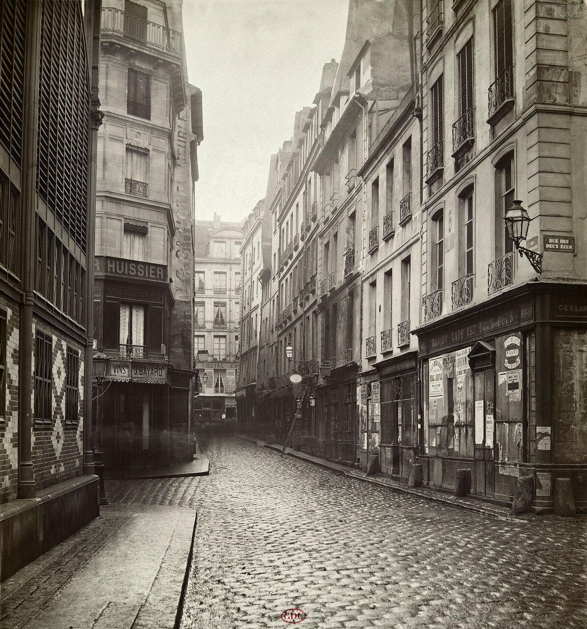 Рю Вовийер. 1866