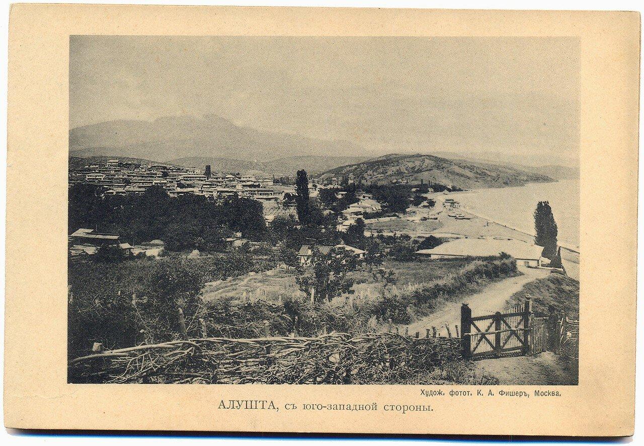 Алушта с юго-западной стороны