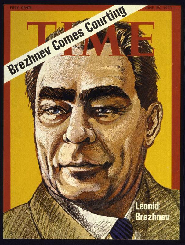 Леонид Брежнев, журнал ТАЙМ, холодная война, политика Брежнева