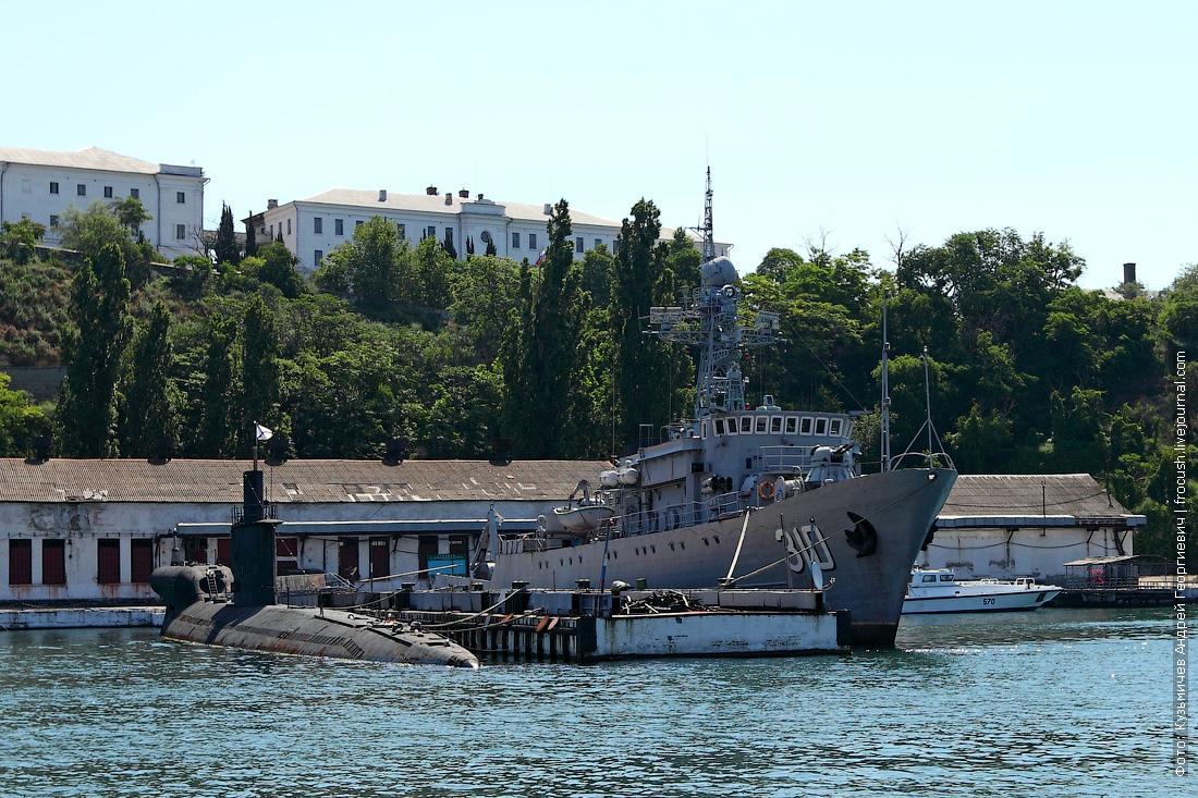 Бывшая подводная лодка «С-49»