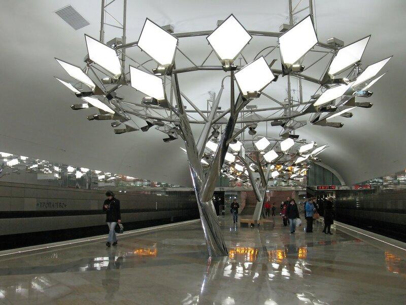 196-ая станция метро.