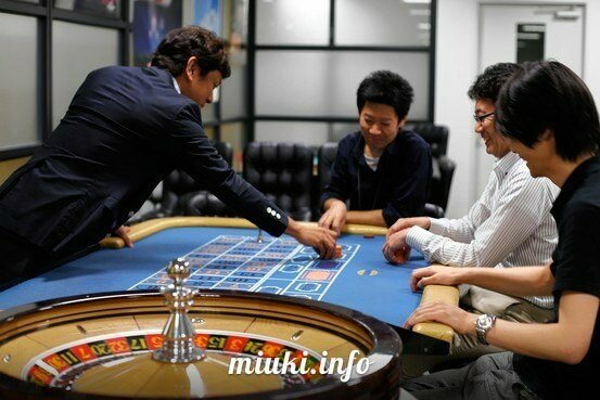 Казино рулетка в Японии