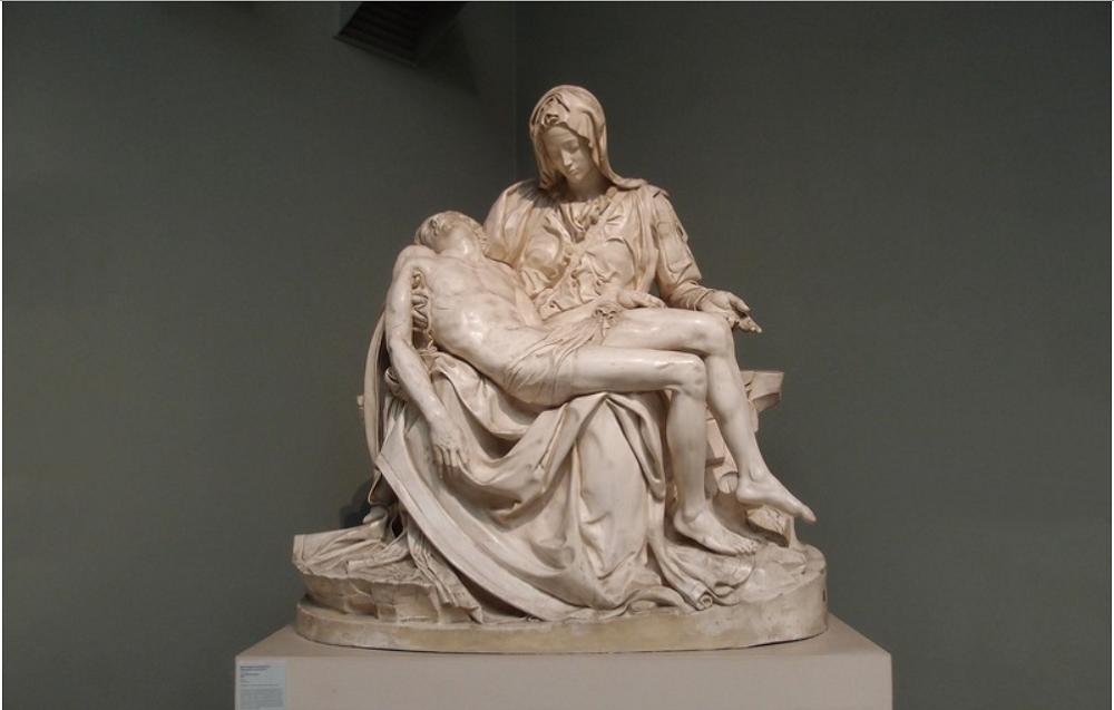 «Оплакивание Христа» Микеланджело Буонаротти