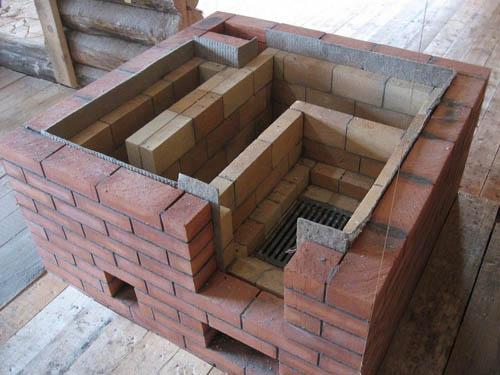 Как построить баню из кирпича самому
