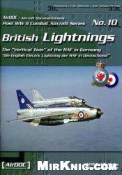 Книга Post WW2 Combat Aircraft Series 10 - British Lightnings