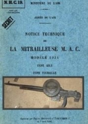 Notice Technique de La Mitrailleuse M.A.C.