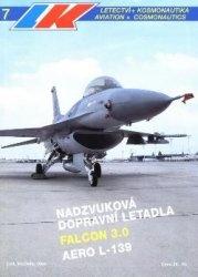 Журнал Letectvi + Kosmonautika 1994-07