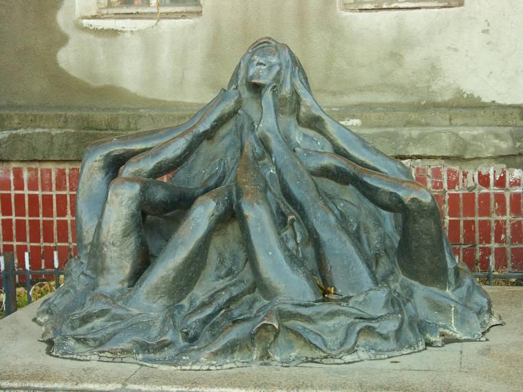 Памятник женским ножкам (Улан-Батор)