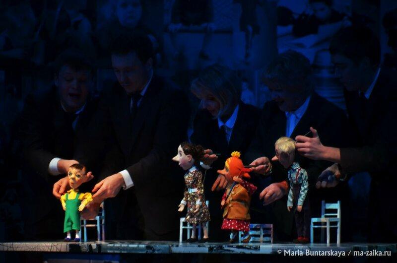 Премьера спектакля 'Денискины рассказы', Саратов, театр кукол 'Теремок', 20 декабря 2014 года