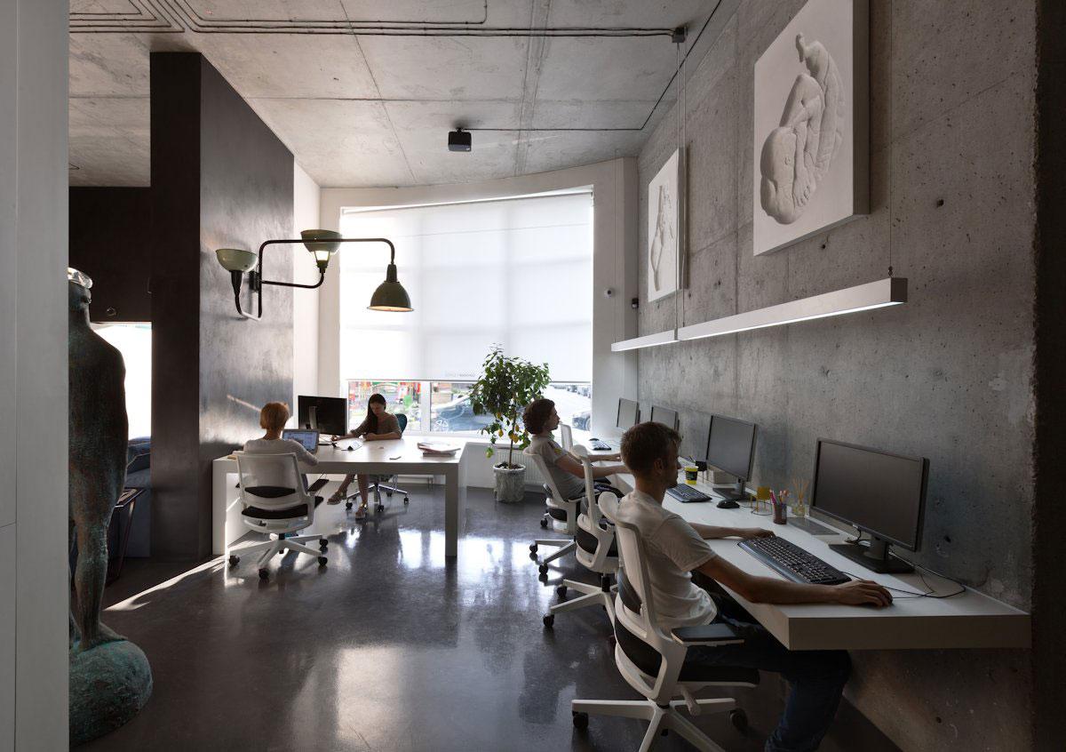 Сергей Махно, дизайнер Сергей Махно, проекты Сергея Махно, Sergey Makhno Architectural Workshop, оформление офиса, интерьер офиса, лучшие офисы в мире