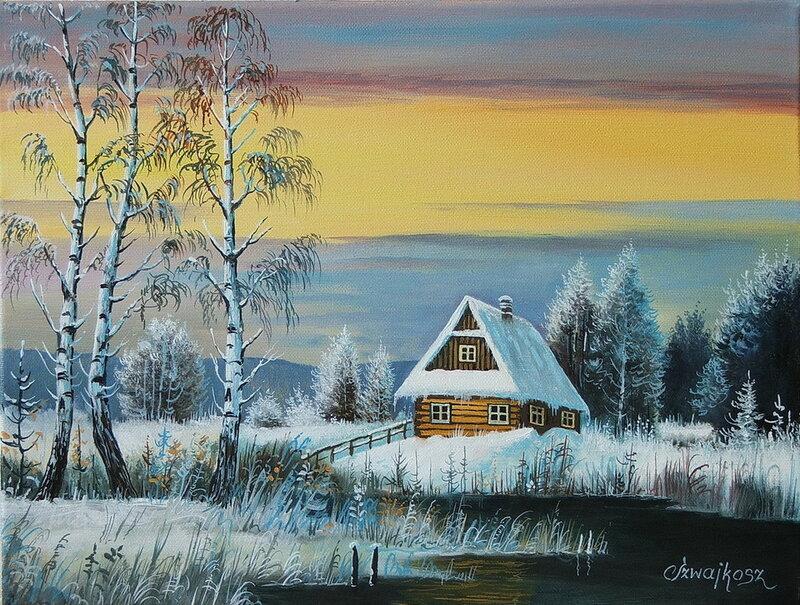 Зима Сергея Пузырченко