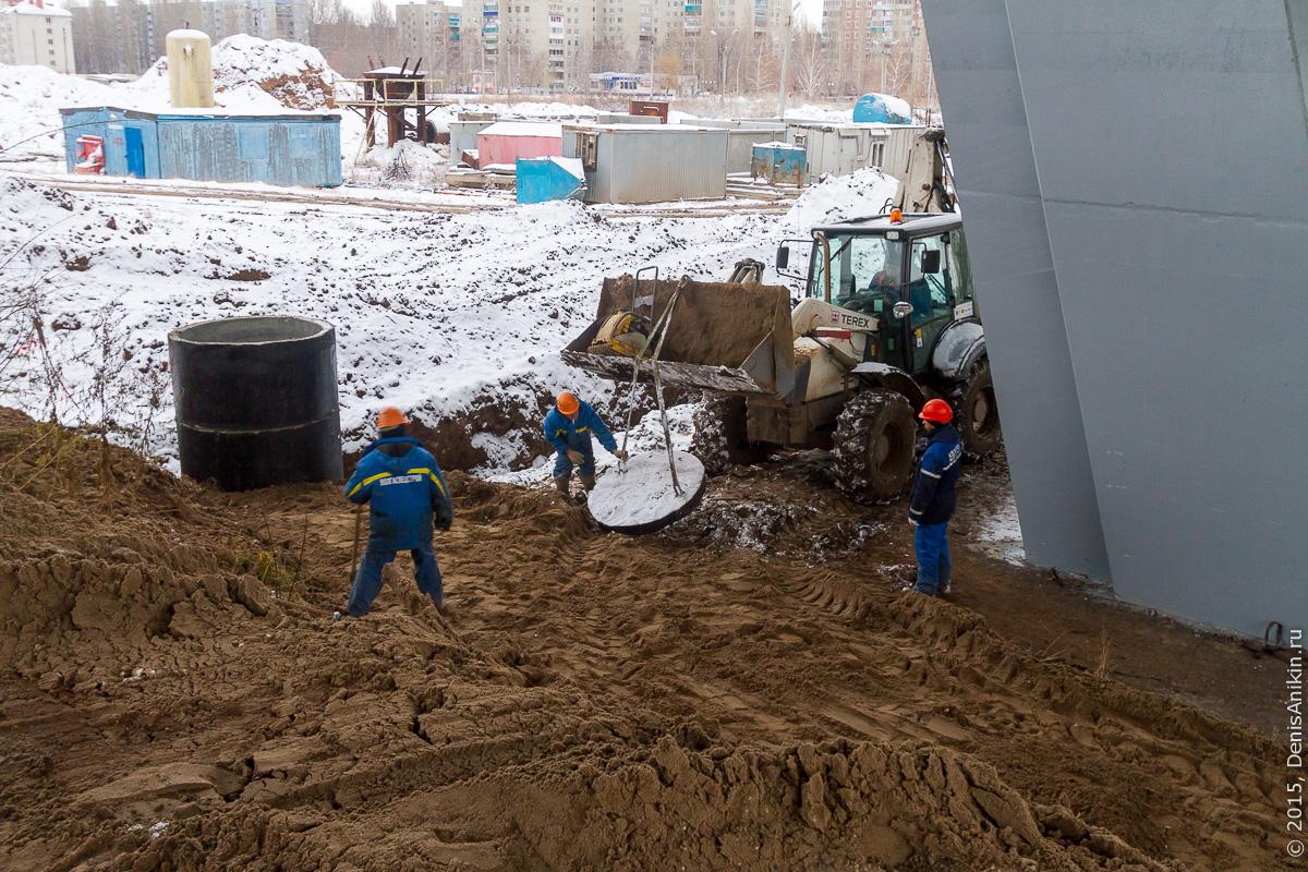 Мостовой переход через судоходный канал в Балаково 10