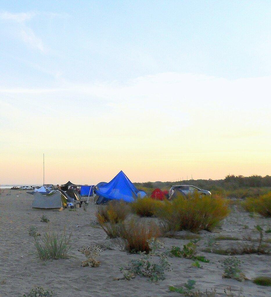 Миг Бытия, утро раннее, у моря, на слёте бардовском 03