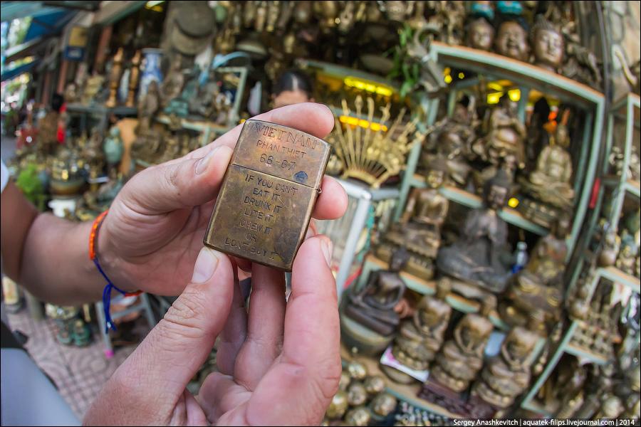Блошиный рынок в Сайгоне