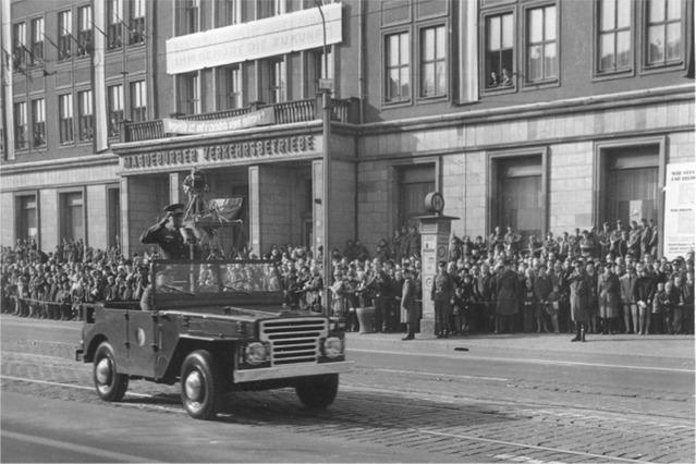 Совместный парад в Магдебурге