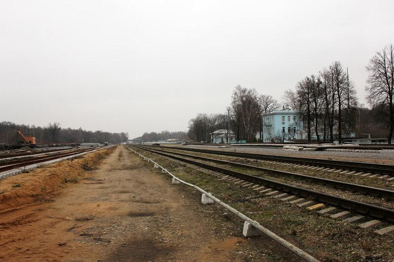 Станция Белокаменная