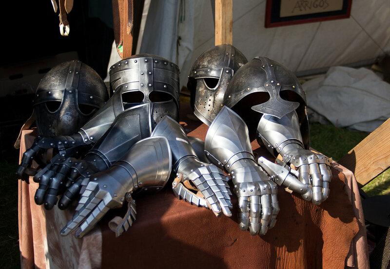 Средневековые праздники и рыцарские турниры в наши дни