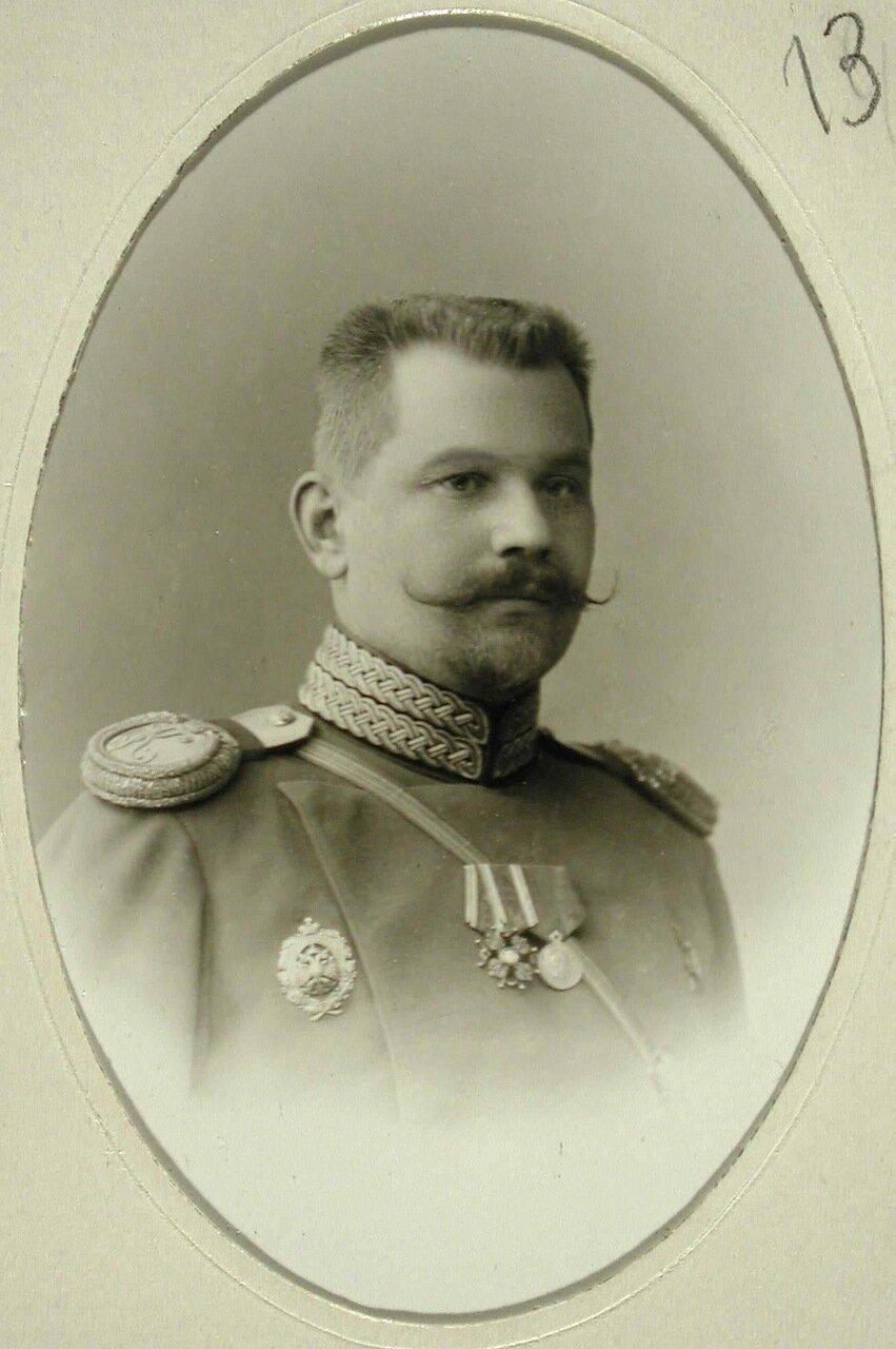 12. Иванов Евграф Дмитриевич - младший офицер, капитан 1-й батареи строевого состава училища