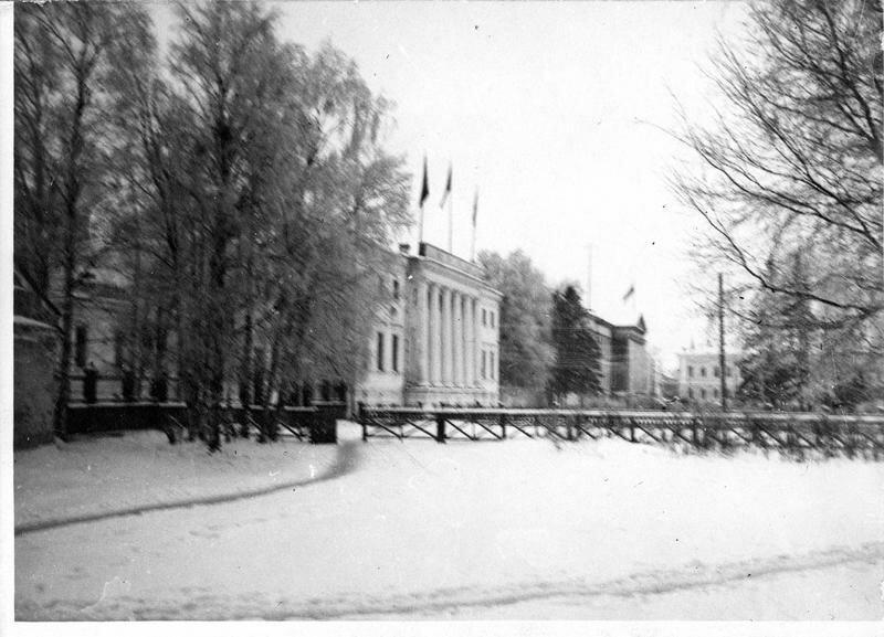 1918. Архангельск. Совместное посольство Франции, США и Италии