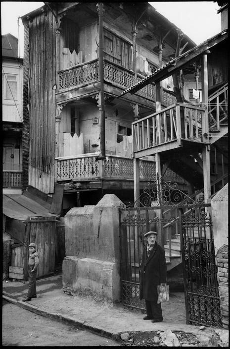 1972. Грузия. Тбилиси. Старые дома