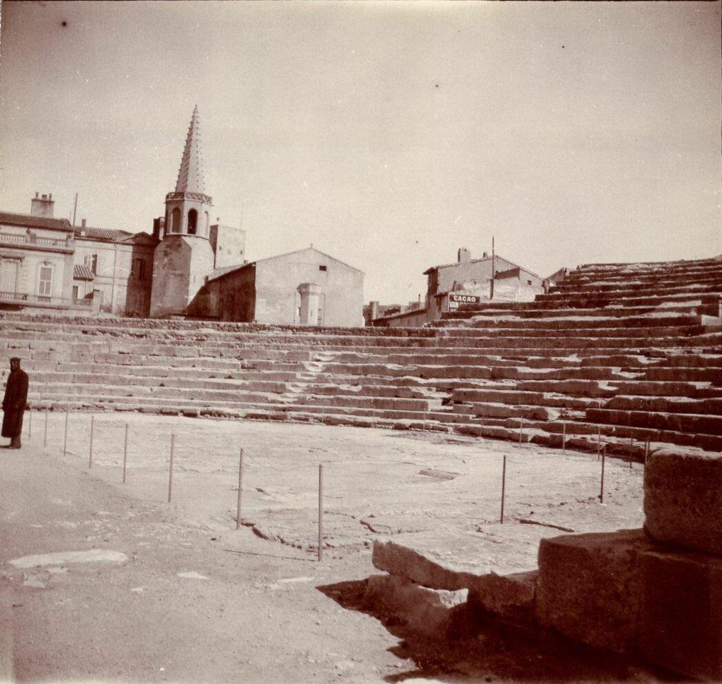 Амфитеатр. Арена и трибуны. 1904