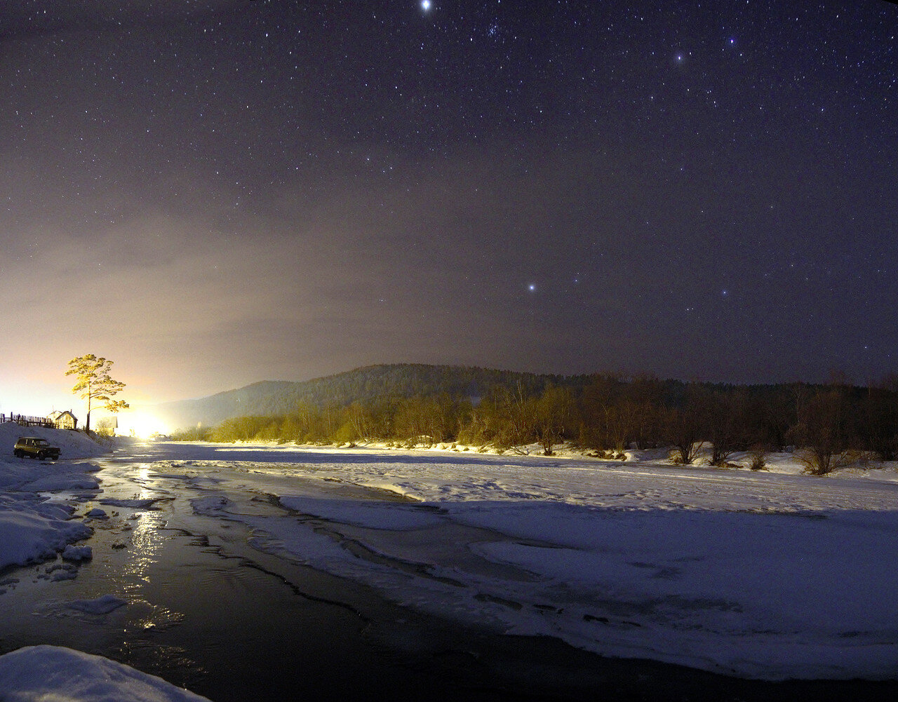 звёзды над рекой Ай