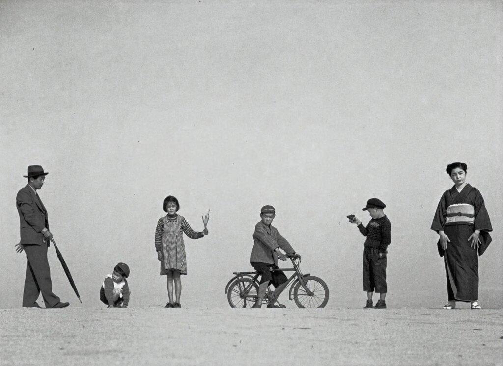 Shoji Ueda, 'Papa and Mama and Children', 1949.jpg