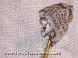 Мастер-класс. Роза  с газетным принтом «Lady Print» от Vortex  0_fc11b_b50784f4_M