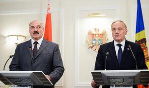 Молдавия хочет продвигать белорусские товары в Европу