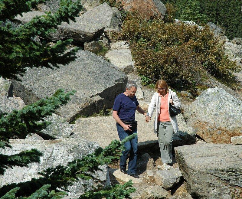 Национальный парк Банф в Скалистых горах Канады.