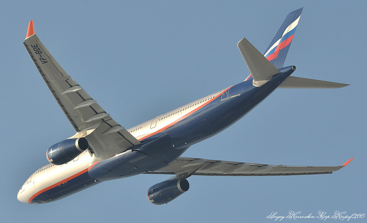 Airbus A330-343 Aeroflot VP-BDE