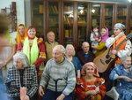 Праздничный визит прихожан Донского храма г. Мытищи в Беляниновский интернат для престарелых