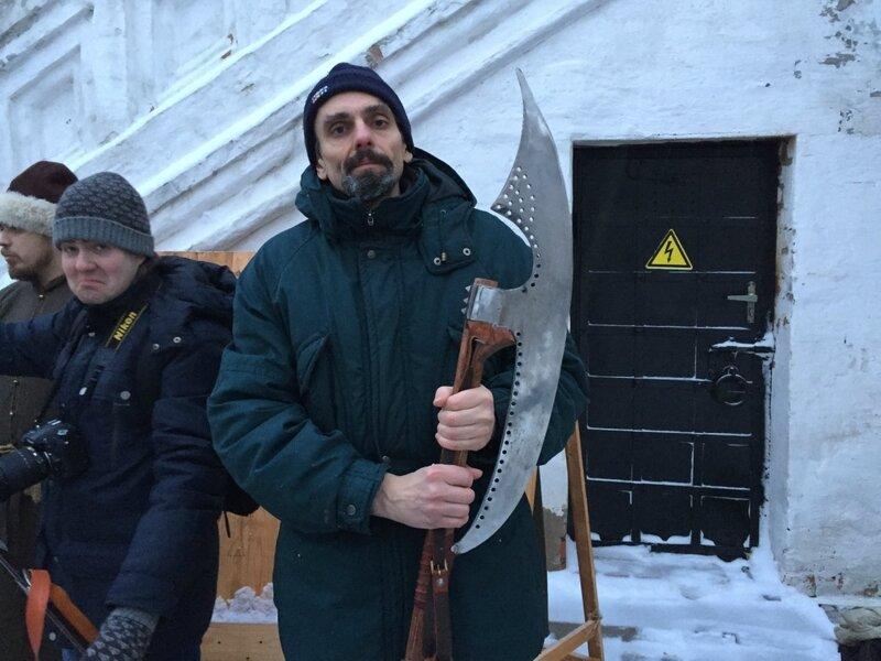 Андрей Травин в образе стрельца