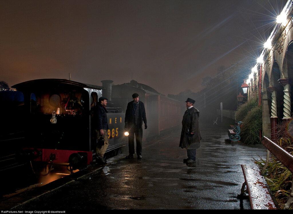 Locomotive Steam 0-4-0, Beamish Museum, Gateshead, United Kingdom, December 07, 2012