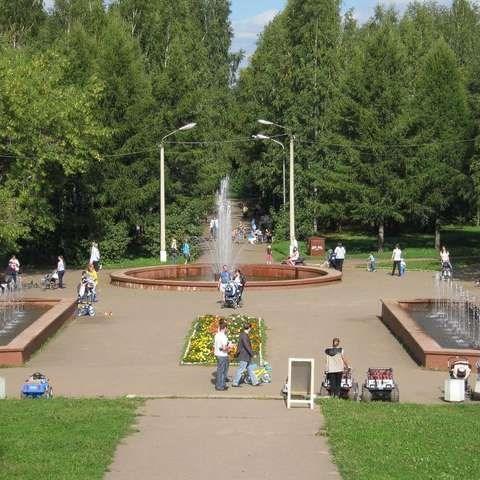 Парк Победы в Кирове реконструируют
