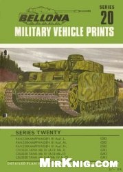 Книга Bellona Military Vehicle Prints №20