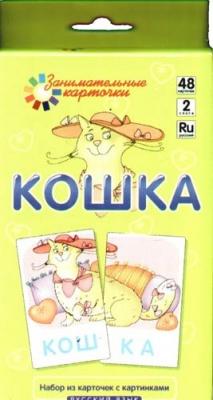 Книга Занимательные карточки Кошка