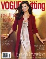 Журнал Vogue knitting HOLIDAY 2007