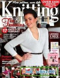 Книга Knitting  №99 February 2012
