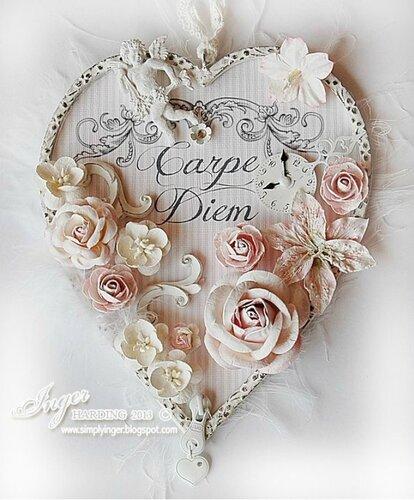 Декоративное сердце для праздничного декора