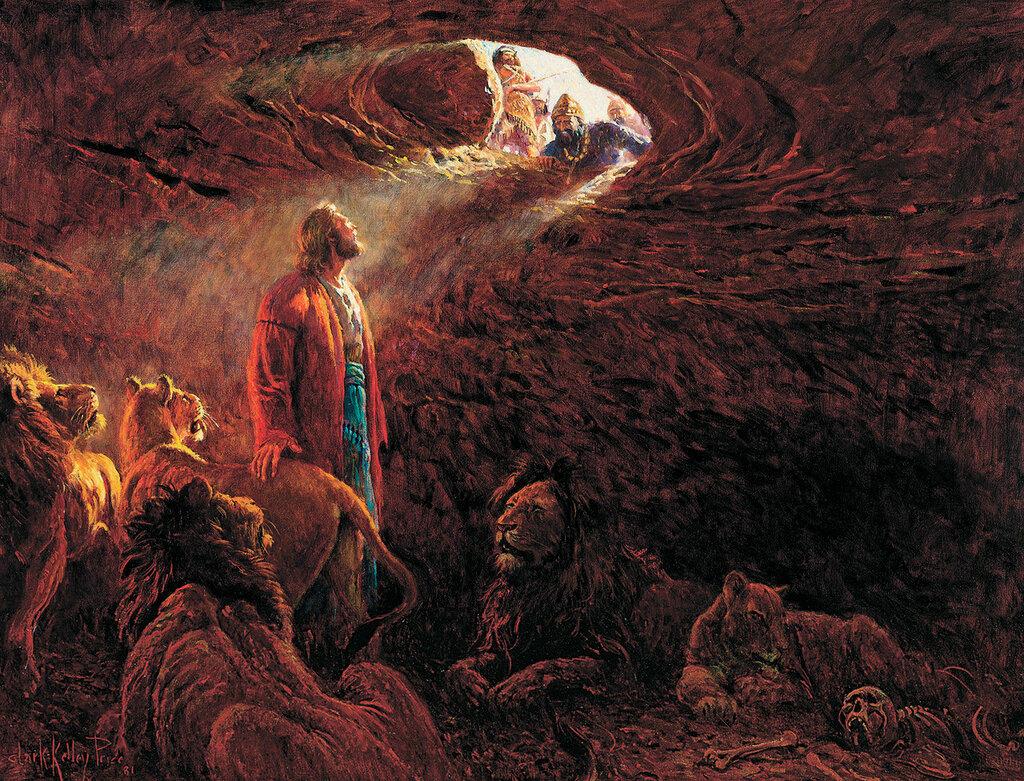 Даниил в львином рву