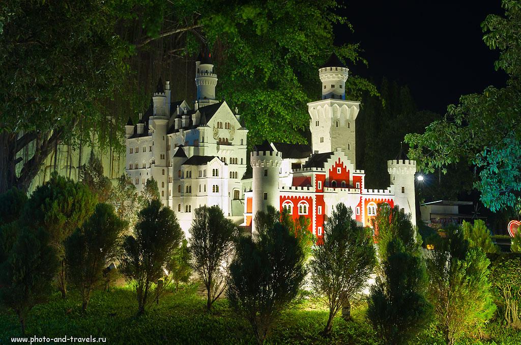 """20. Самый знаменитый замок Германии можно встретить и в Таиланде в парке """"Мини Сиам"""". Отзывы турстов о самостоятельных экскурсиях в Паттайе."""