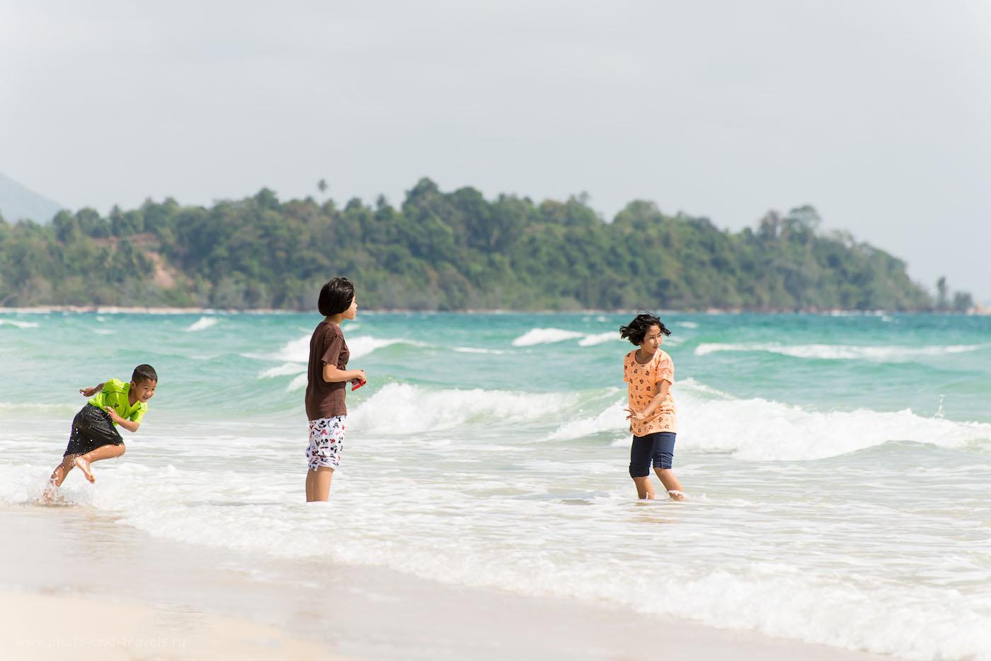 Фото 1. Отдых в Таиланде. Отзывы туристов о самостоятельном путешествии. На пляже Thung Wua Laen Beach (камера Nikon D610, объектив Nikkor 70-300, параметры съемки: ИСО 100, фокусное расстояние 210, дифарагма f/5.6, выдержка 1/500)