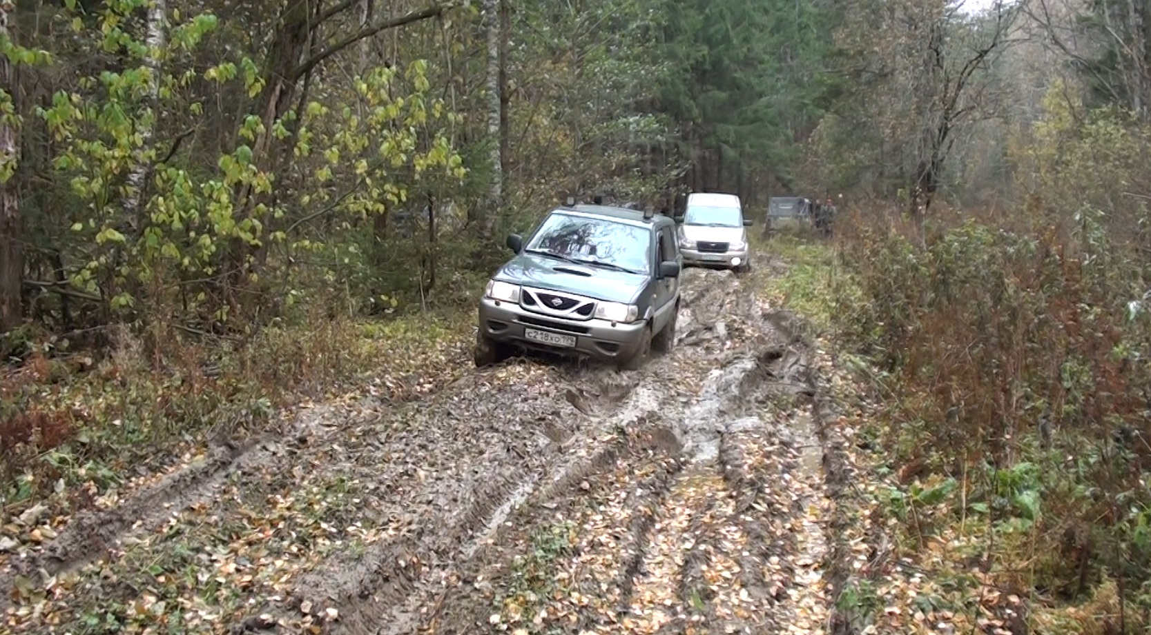 GPS ориентирование на Екатерининском Тракте (24.10.2015 г.)